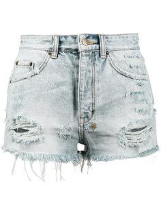 джинсовые шорты с завышенной талией Tongue n Cheek Ksubi