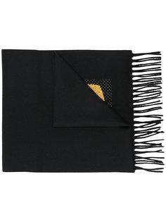 шарф на подкладке с заплаткой Bag Bugs Fendi