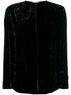 бархатная блузка с вырезом капелькой  Stella McCartney