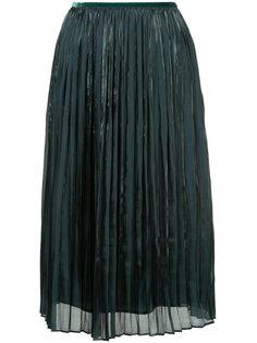 плиссированная юбка с высокой талией Estnation