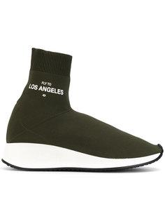 sock style trainers Joshua Sanders