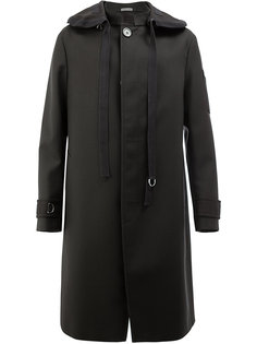 удлиненное однобортное пальто Lanvin