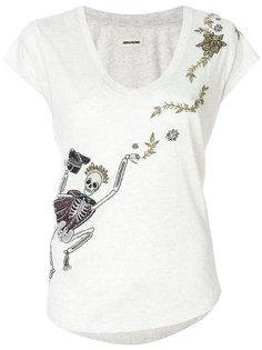 embellished skeleton T-shirt  Zadig & Voltaire