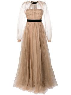 вечернее платье из тюля Nº21