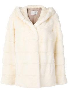 короткое пальто с капюшоном Yves Salomon