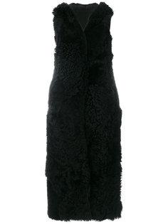 пальто средней длины без рукавов Drome