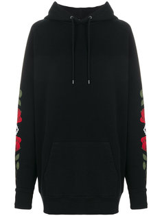 rose printed hoodie Marcelo Burlon County Of Milan