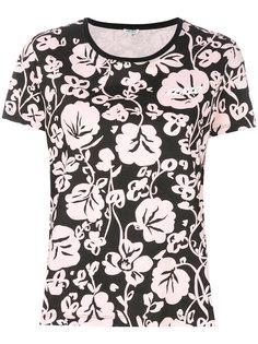 футболка с растительным принтом  Kenzo