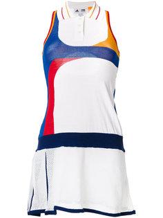 теннисное платье колор блок  Adidas