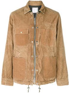 вельветовая куртка-рубашка Sacai