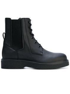 ботинки по щиколотку на шнуровке Lanvin
