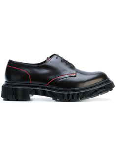 injected rubber sole derby shoes  Adieu Paris