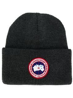 ребристая трикотажная шапка Canada Goose
