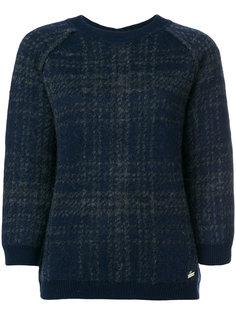 свитер в клетку с пуговицами Woolrich