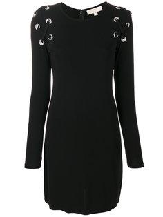платье миди со шнуровкой  Michael Michael Kors