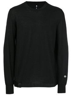 свитер с вышивкой логотипа Oamc