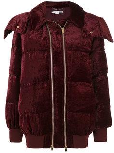 дутое пальто с двойной молнией  Stella McCartney