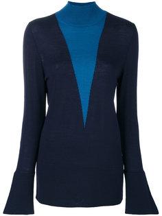 расклешенный свитер  Erika Cavallini