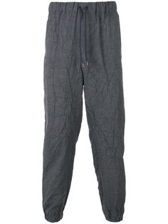 брюки на шнурке с эффектом помятости Issey Miyake Men