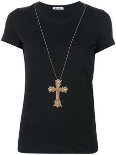 футболка с крестиком  Dondup