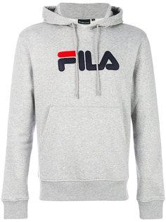 толстовка с капюшоном и логотипом Fila