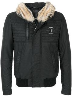 пальто с капюшоном Philipp Plein