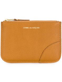 textured leather pouch Comme Des Garçons Wallet