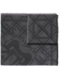шарф в клетку Kenzo