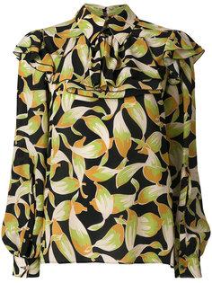 рубашка с принтом Nº21