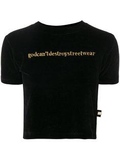 футболка с вышивкой  Gcds