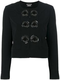 пиджак с декоративными пуговицами Moschino