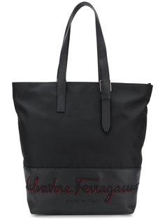сумка на плечо с вышивкой логотипа Salvatore Ferragamo