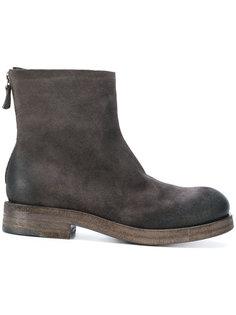 ботинки с эффектом потертости  Roberto Del Carlo