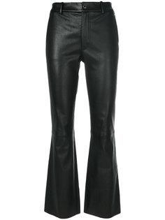 укороченные брюки слим  Helmut Lang