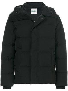 пальто-пуховик с капюшоном Kenzo