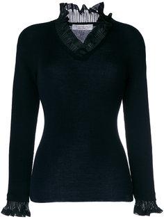 свитер с оборками D.Exterior