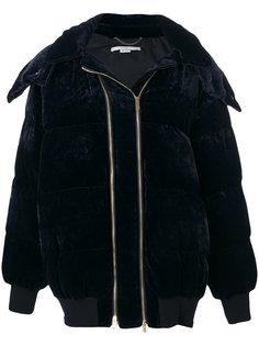 свободная бархатная дутая куртка  Stella McCartney