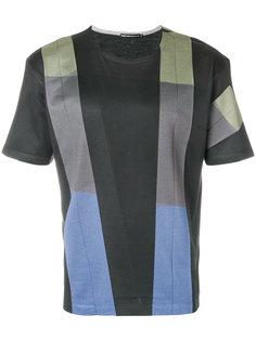 футболка с вышивкой Issey Miyake Men