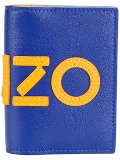 "визитница с логотипом дизайна ""колор-блок"" Kenzo"