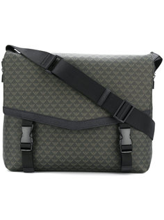 сумка-мессенджер с принтом логотипа  Emporio Armani
