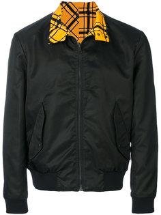 двусторонняя куртка бомбер Bold Check Kenzo