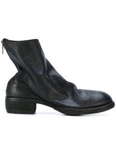 узкие ботинки на молнии Guidi