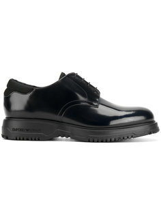 классические туфли на шнуровке Emporio Armani