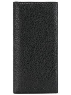 удлиненный континентальный кошелек Emporio Armani