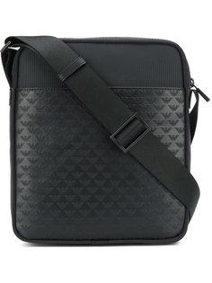 прямоугольная сумка с логотипом Emporio Armani