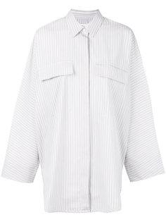 свободная блузка в полоску  Maison Margiela
