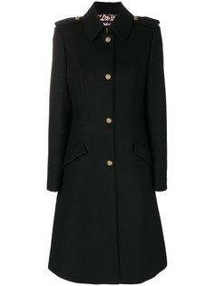 пальто с тиснеными пуговицами  Just Cavalli
