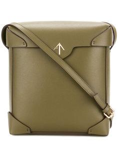 square cross body bag Manu Atelier