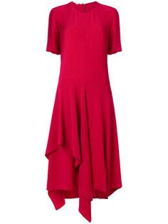 асимметричное платье с короткими рукавами  Stella McCartney