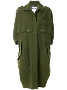 пальто милитари  Moschino